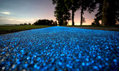 Glowing-Blue-Bike-Lane-Tpa-Instytut-Badan-Technicznych-Poland-2